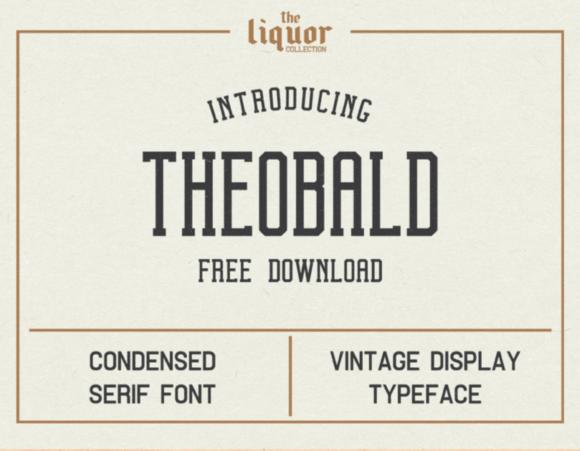 THEOBALD font freebie