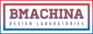bmachina new logo png color typography