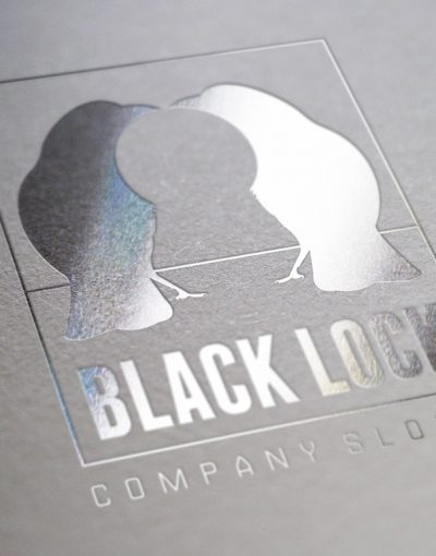 Black Lock Logo template