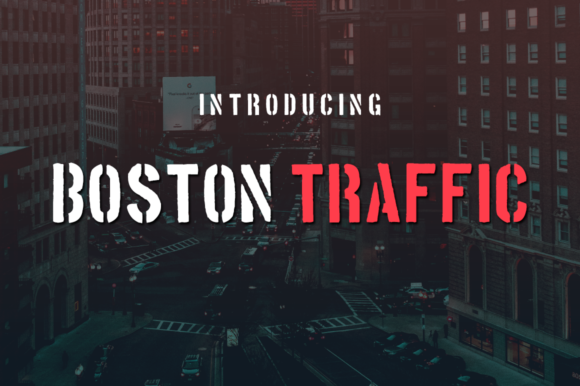 Boston Traffic by Creative Fabrica Freebies
