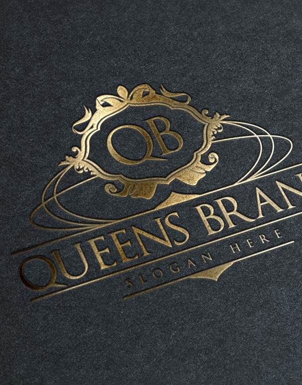 queens brand logo template
