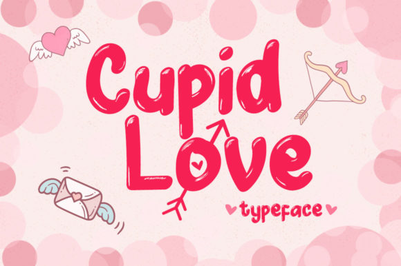 freebie font Cupid Love