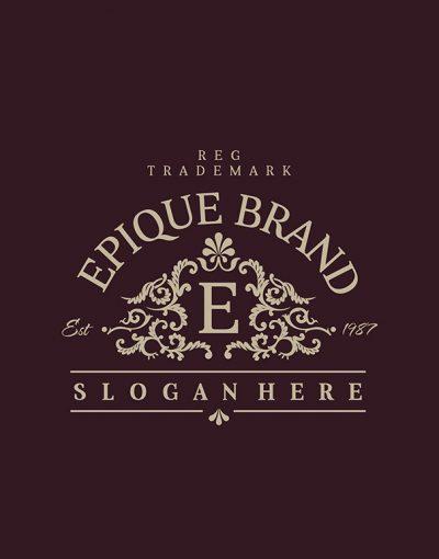 Epique Brand Logo Template