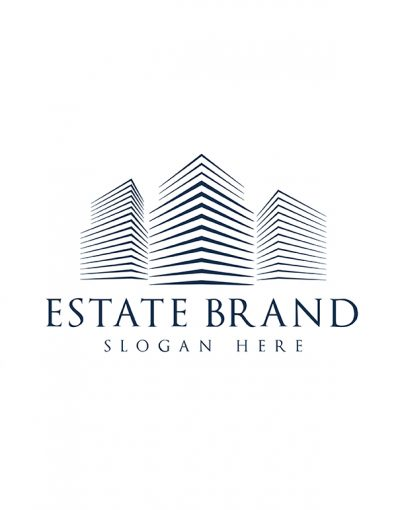 Estate Brand Color Letterpress white