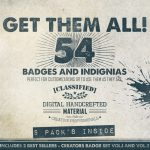Get Them All Creative Badges Logos
