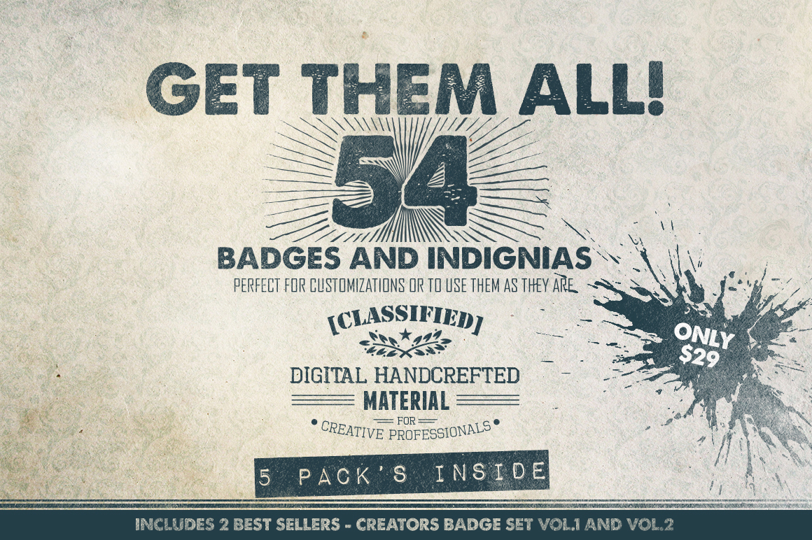 Get Them All Insignias Bundle