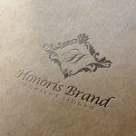 Honoris Letter Press Logo CM