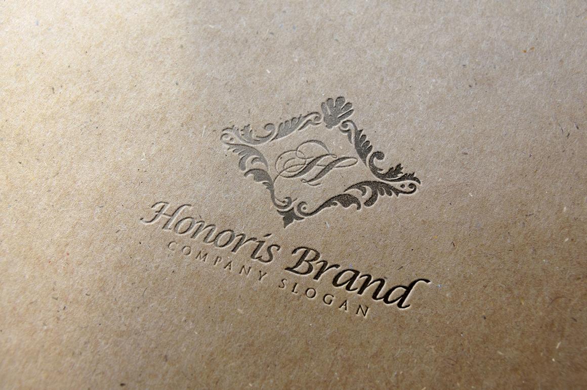 Honoris Letter Press Logo