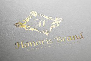 Honoris Luxury Gold Gold Logo