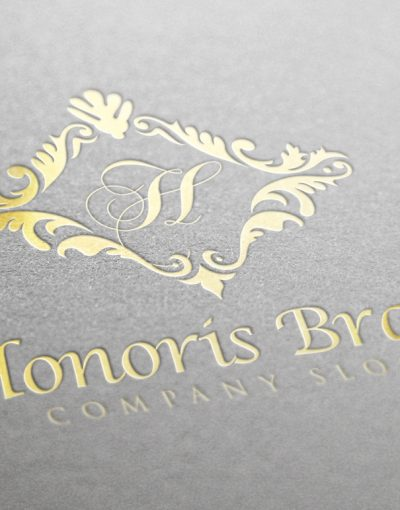 Honoris Luxury Gold Gold Logo