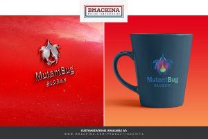 Mutant Bug logo security template creative market bmachina store main image mug and car -2
