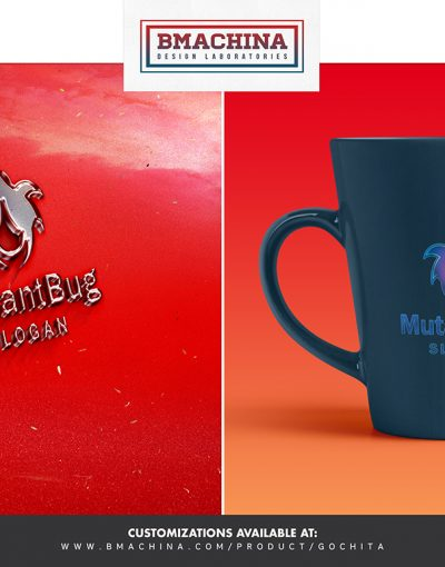 Mutant Bug logo security template creative market bmachina store main image mug and car -2