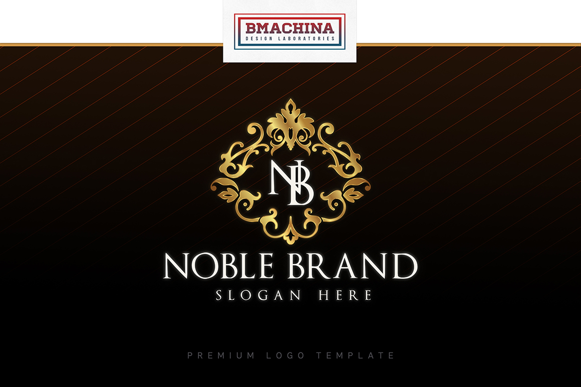 Noble Brand Logo Lux