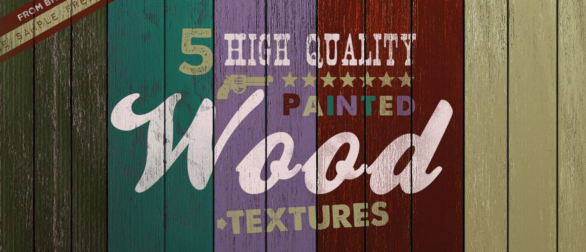 Free Painted Wood Texture - Light Pack