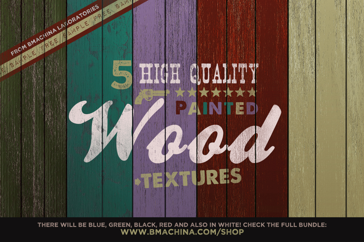 Free Painted Wood Textures