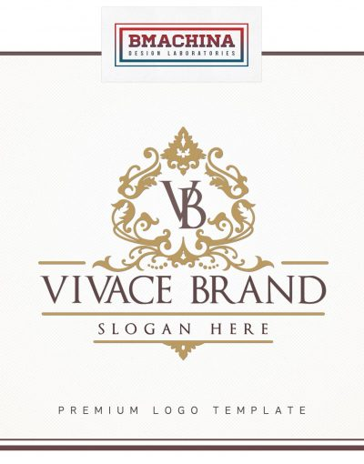 Vivace Brand Logo Template