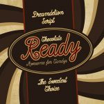 Dreamdelion hand drawn script font chocolate