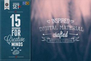 creative badge set creators design resources and supplys gallery