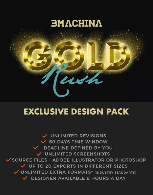 bmachina plan gold exclusive DESIGN BRIEF