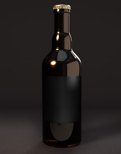 Beer Bottle Mockup Artisan