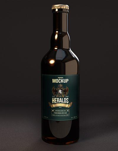 Beer Bottle Mockup Artisan