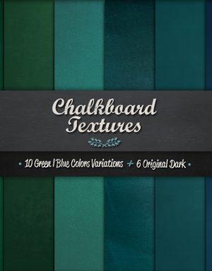 Chalkboard Textures Vol.1 Creative Market Promo n1 main