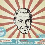 Instant featured Sunbursts and sunrays main promo