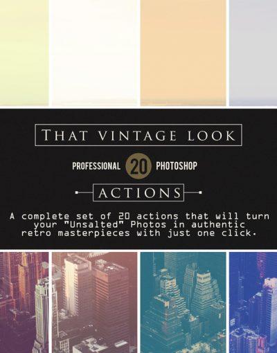 That Vintage Look promo 1