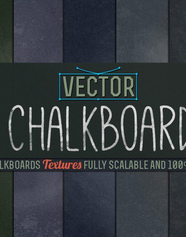 vector chalkboard textures
